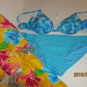 Women's 3 PC Swimsuit Size XL